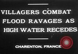 Image of flooded streets Charenton France, 1930, second 6 stock footage video 65675052007
