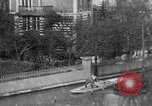 Image of flooded streets Charenton France, 1930, second 14 stock footage video 65675052007