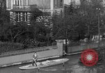 Image of flooded streets Charenton France, 1930, second 16 stock footage video 65675052007