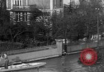 Image of flooded streets Charenton France, 1930, second 18 stock footage video 65675052007