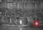 Image of flooded streets Charenton France, 1930, second 20 stock footage video 65675052007