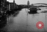 Image of Rhine flooded streets of Koblenz Koblenz Germany, 1930, second 10 stock footage video 65675052008