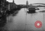 Image of Rhine flooded streets of Koblenz Koblenz Germany, 1930, second 11 stock footage video 65675052008