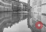 Image of Rhine flooded streets of Koblenz Koblenz Germany, 1930, second 21 stock footage video 65675052008
