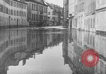 Image of Rhine flooded streets of Koblenz Koblenz Germany, 1930, second 22 stock footage video 65675052008