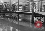 Image of Rhine flooded streets of Koblenz Koblenz Germany, 1930, second 32 stock footage video 65675052008