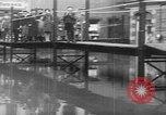 Image of Rhine flooded streets of Koblenz Koblenz Germany, 1930, second 33 stock footage video 65675052008