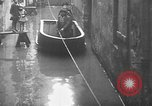 Image of Rhine flooded streets of Koblenz Koblenz Germany, 1930, second 36 stock footage video 65675052008