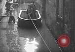 Image of Rhine flooded streets of Koblenz Koblenz Germany, 1930, second 37 stock footage video 65675052008