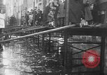 Image of Rhine flooded streets of Koblenz Koblenz Germany, 1930, second 40 stock footage video 65675052008