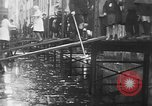 Image of Rhine flooded streets of Koblenz Koblenz Germany, 1930, second 44 stock footage video 65675052008