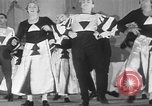Image of male chorines Princeton New Jersey USA, 1930, second 59 stock footage video 65675052009