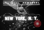 Image of union workers New York City USA, 1937, second 2 stock footage video 65675052020