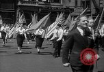 Image of union workers New York City USA, 1937, second 16 stock footage video 65675052020