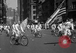 Image of union workers New York City USA, 1937, second 23 stock footage video 65675052020
