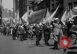 Image of union workers New York City USA, 1937, second 25 stock footage video 65675052020