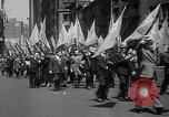 Image of union workers New York City USA, 1937, second 26 stock footage video 65675052020