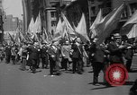 Image of union workers New York City USA, 1937, second 27 stock footage video 65675052020