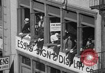 Image of union workers New York City USA, 1937, second 28 stock footage video 65675052020