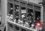 Image of union workers New York City USA, 1937, second 30 stock footage video 65675052020