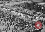 Image of union workers New York City USA, 1937, second 33 stock footage video 65675052020