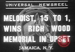 Image of large crowd Jamaica New York USA, 1937, second 1 stock footage video 65675052027
