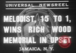 Image of large crowd Jamaica New York USA, 1937, second 4 stock footage video 65675052027