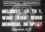 Image of large crowd Jamaica New York USA, 1937, second 5 stock footage video 65675052027