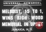 Image of large crowd Jamaica New York USA, 1937, second 11 stock footage video 65675052027