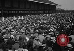 Image of large crowd Jamaica New York USA, 1937, second 23 stock footage video 65675052027