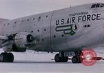 Image of aircraft C 124 Antarctica, 1956, second 30 stock footage video 65675052041