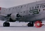 Image of aircraft C 124 Antarctica, 1956, second 31 stock footage video 65675052041
