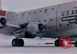 Image of aircraft C 124 Antarctica, 1956, second 32 stock footage video 65675052041
