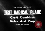 Image of rotary wing aircraft United States USA, 1964, second 1 stock footage video 65675052052