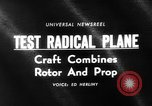 Image of rotary wing aircraft United States USA, 1964, second 4 stock footage video 65675052052