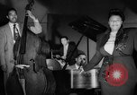 Image of Ella Fitzgerald New York City USA, 1949, second 1 stock footage video 65675052083