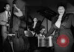 Image of Ella Fitzgerald New York City USA, 1949, second 14 stock footage video 65675052083