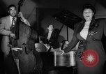 Image of Ella Fitzgerald New York City USA, 1949, second 20 stock footage video 65675052083