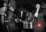 Image of Ella Fitzgerald New York City USA, 1949, second 21 stock footage video 65675052083