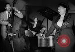 Image of Ella Fitzgerald New York City USA, 1949, second 23 stock footage video 65675052083