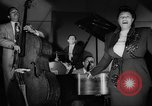 Image of Ella Fitzgerald New York City USA, 1949, second 30 stock footage video 65675052083