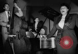 Image of Ella Fitzgerald New York City USA, 1949, second 33 stock footage video 65675052083
