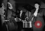 Image of Ella Fitzgerald New York City USA, 1949, second 46 stock footage video 65675052083