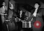 Image of Ella Fitzgerald New York City USA, 1949, second 52 stock footage video 65675052083