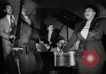 Image of Ella Fitzgerald New York City USA, 1949, second 53 stock footage video 65675052083