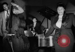 Image of Ella Fitzgerald New York City USA, 1949, second 58 stock footage video 65675052083