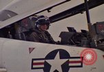 Image of aircraft T-2C Beeville Texas Naval Air Station Chase Field USA, 1982, second 61 stock footage video 65675052114