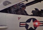 Image of aircraft T-2C Beeville Texas Naval Air Station Chase Field USA, 1982, second 62 stock footage video 65675052114