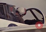 Image of aircraft T-2C Beeville Texas Naval Air Station Chase Field USA, 1982, second 20 stock footage video 65675052115