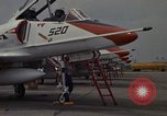 Image of aircraft TA-4J Beeville Texas Naval Air Station Chase Field USA, 1982, second 20 stock footage video 65675052120